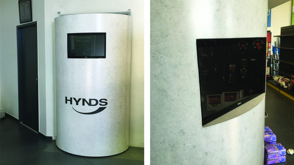 Hynds Interactive Display