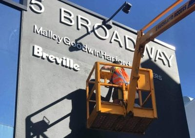 Breville - 3D Signage Installation