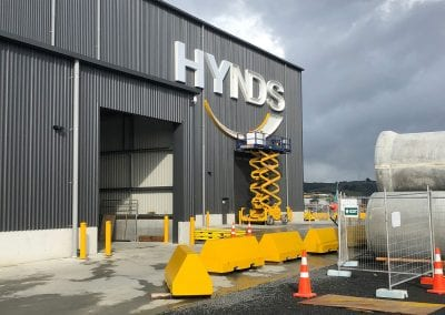 Hynds - 3D Signage Installation