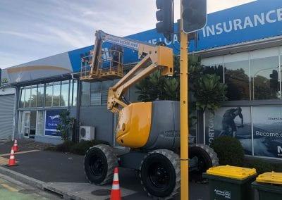 NZ Home Loans - Fascia Sign Installation