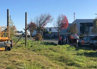 Stuart Properties - Roadside Sign Installation