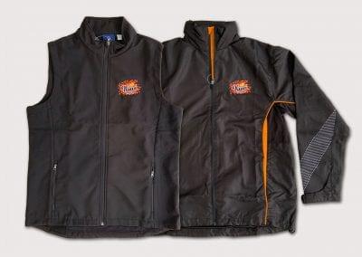Kiwi Beverages Embroidered Jacket & Vest