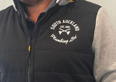 South Auckland Plumbing Embroidered Hoodie
